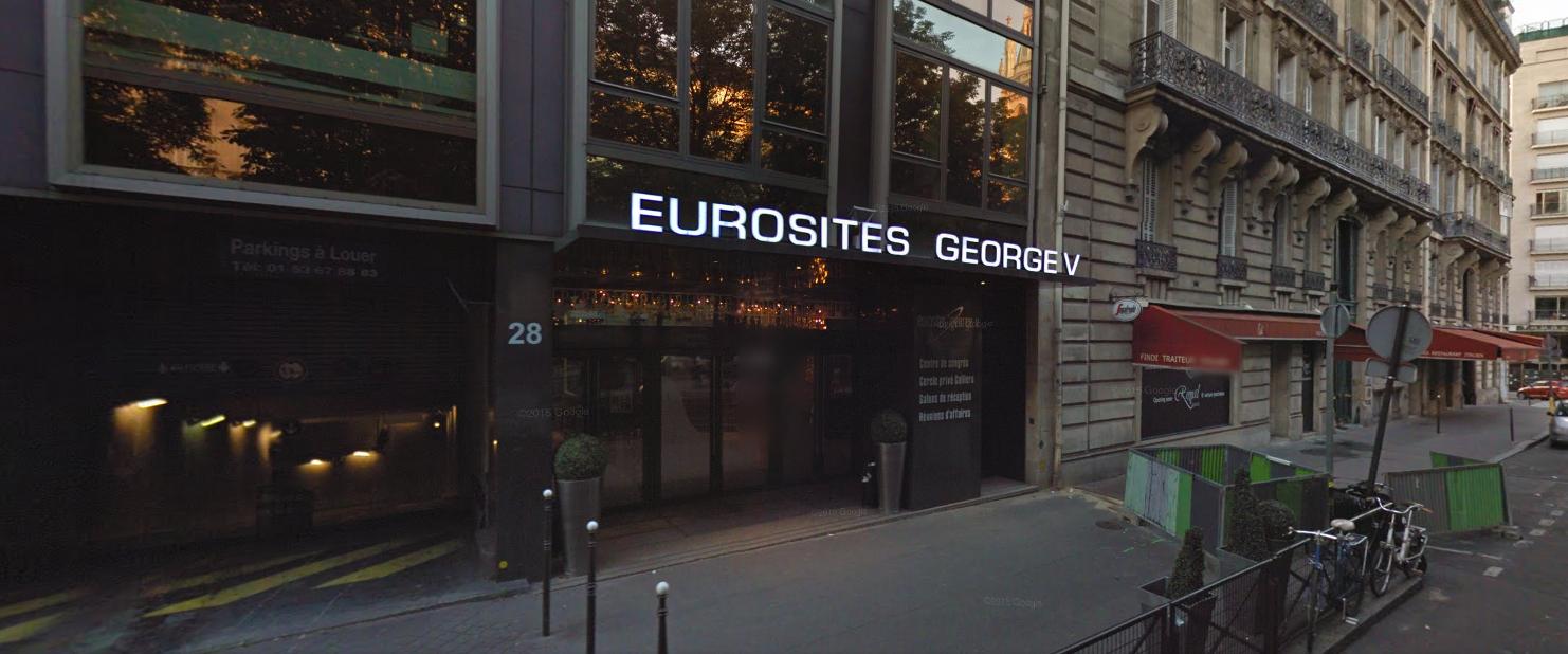 Devanture Eurosites Georges V