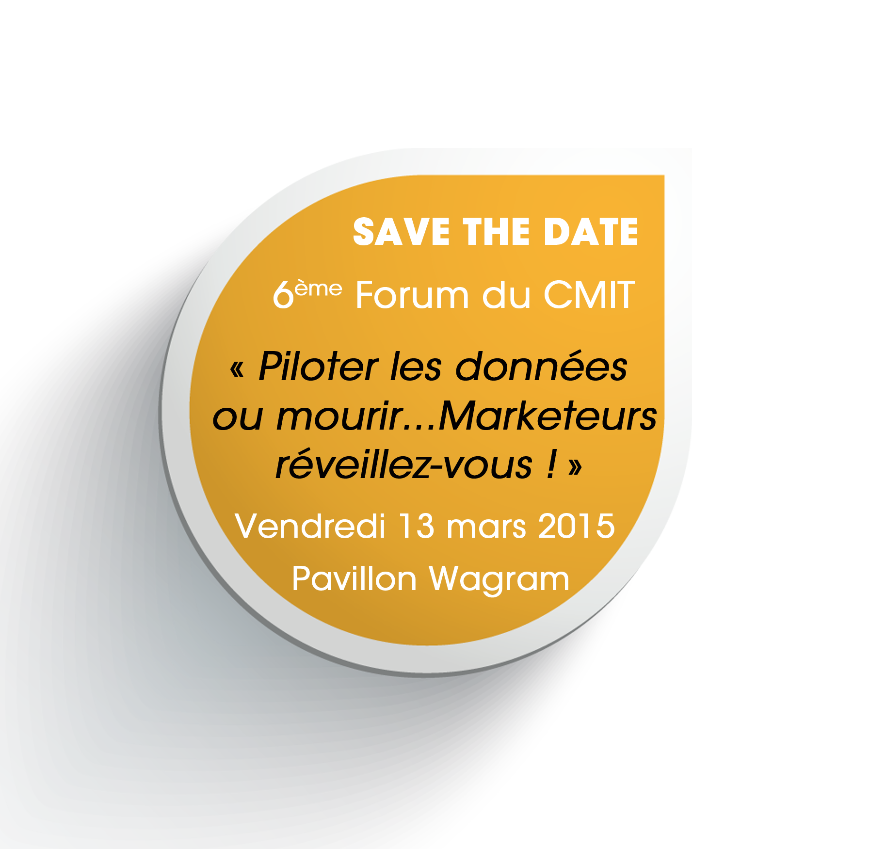 CMIT | 6e édition save the date