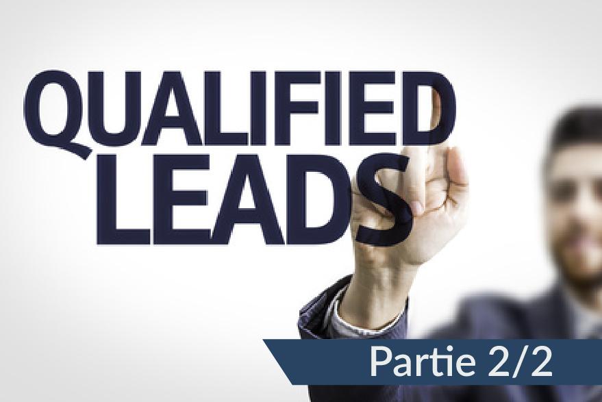Qualification leads BtoB