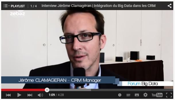 Interview Jérôme Clamagéran