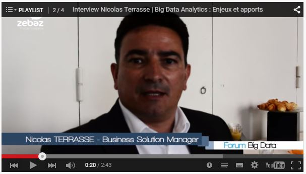 Interview Nicolas Terrasse sur le Big Data Analytics