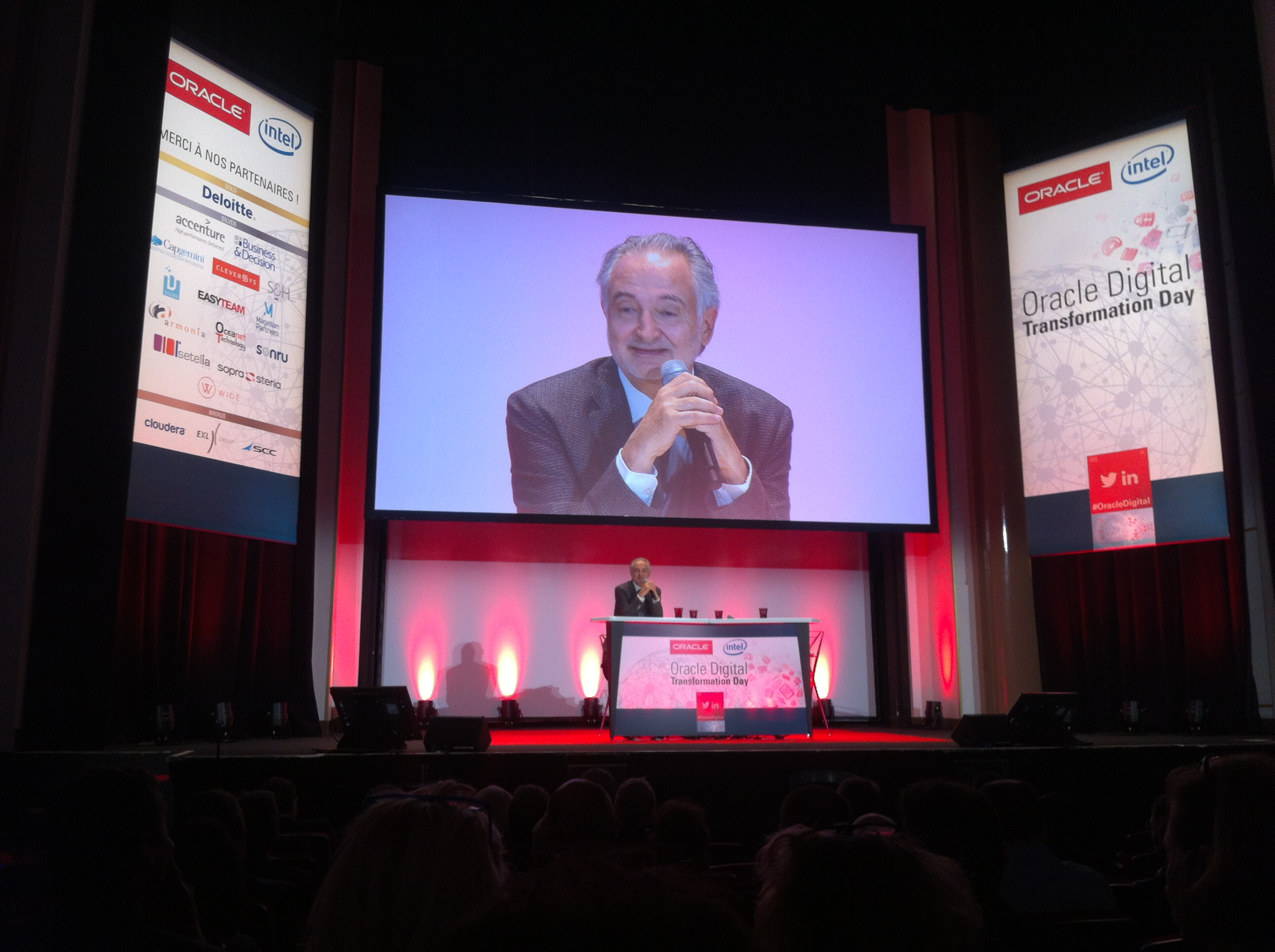 Oracle Digital Transformation Day : Intervention de Jacques Attali