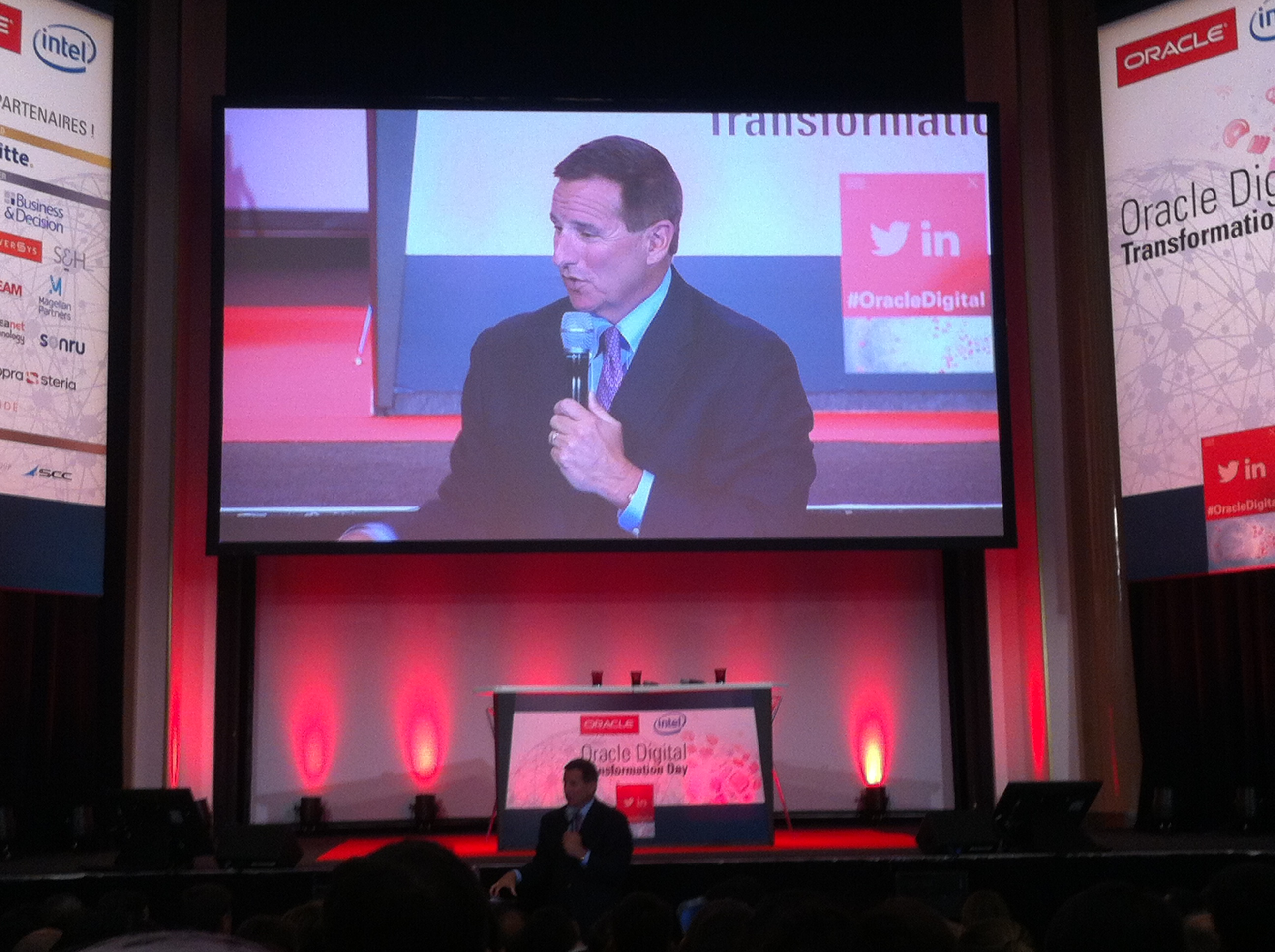 Salon E-Commerce : Intervention de Mark Hurd, CEO d'Oracle Corporation
