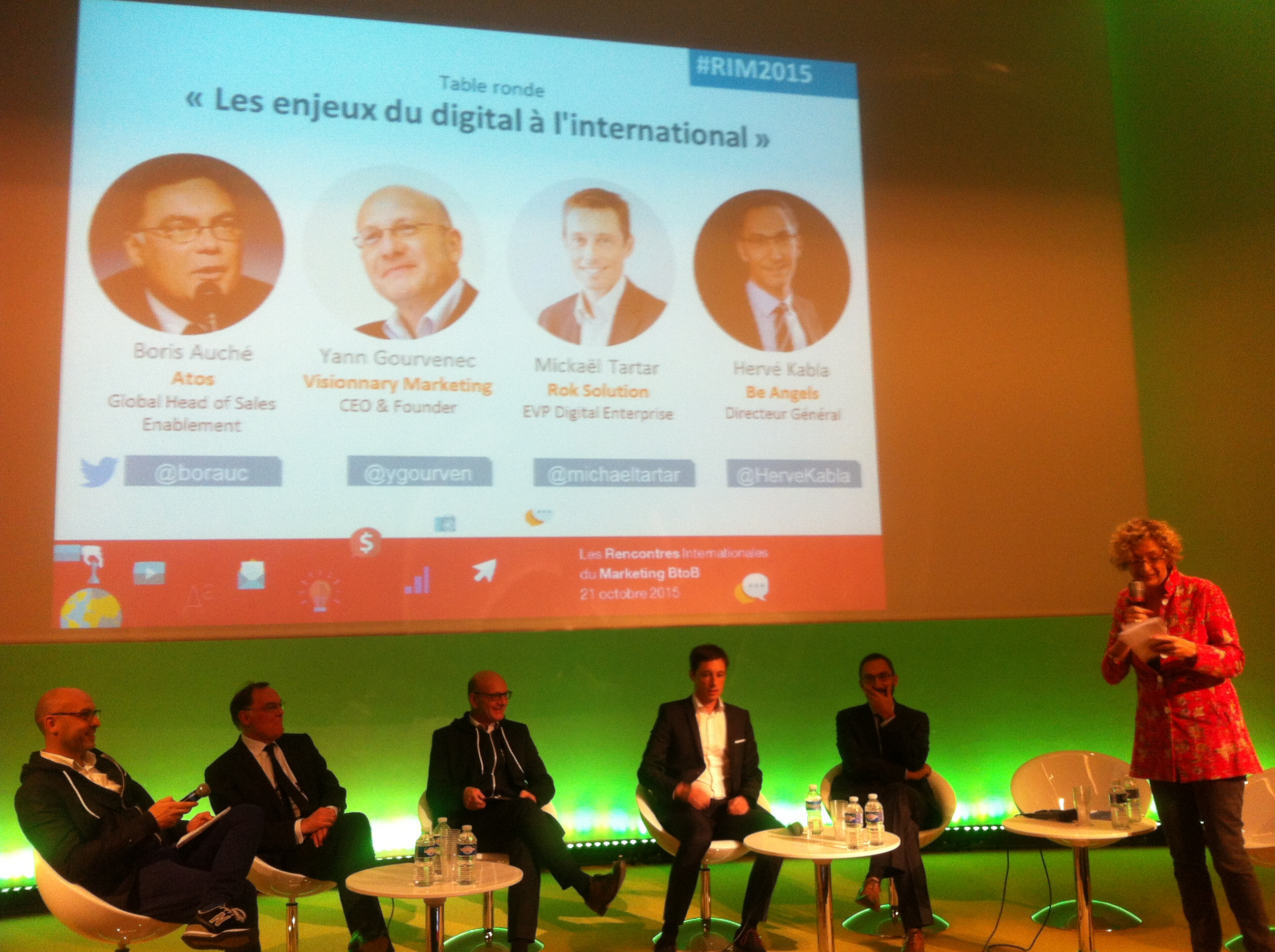 Rencontres Internationales du Marketing B2B | Enjeux du digital a l'international