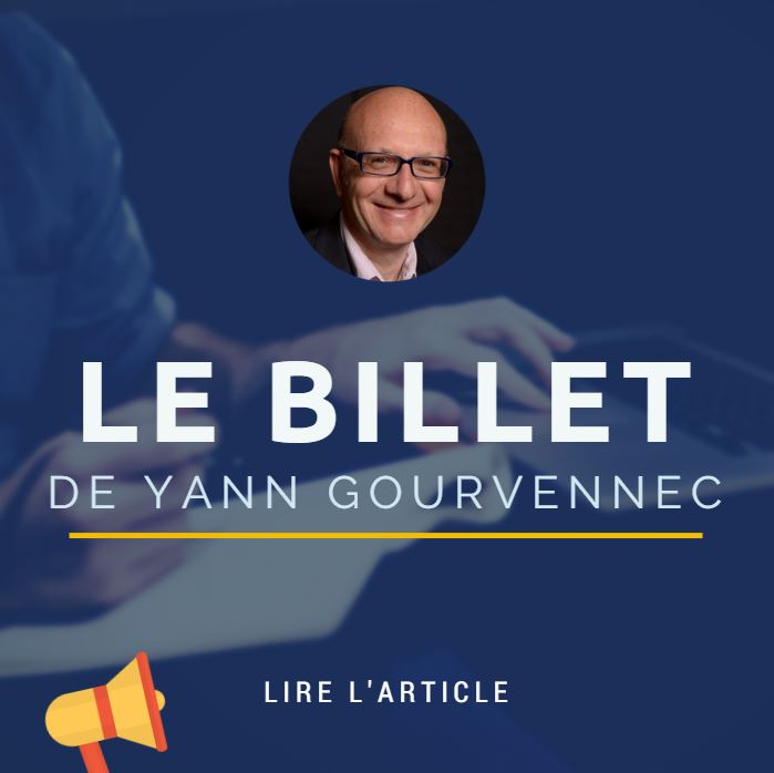 Le billet de Yann Gourvennec | Big Data