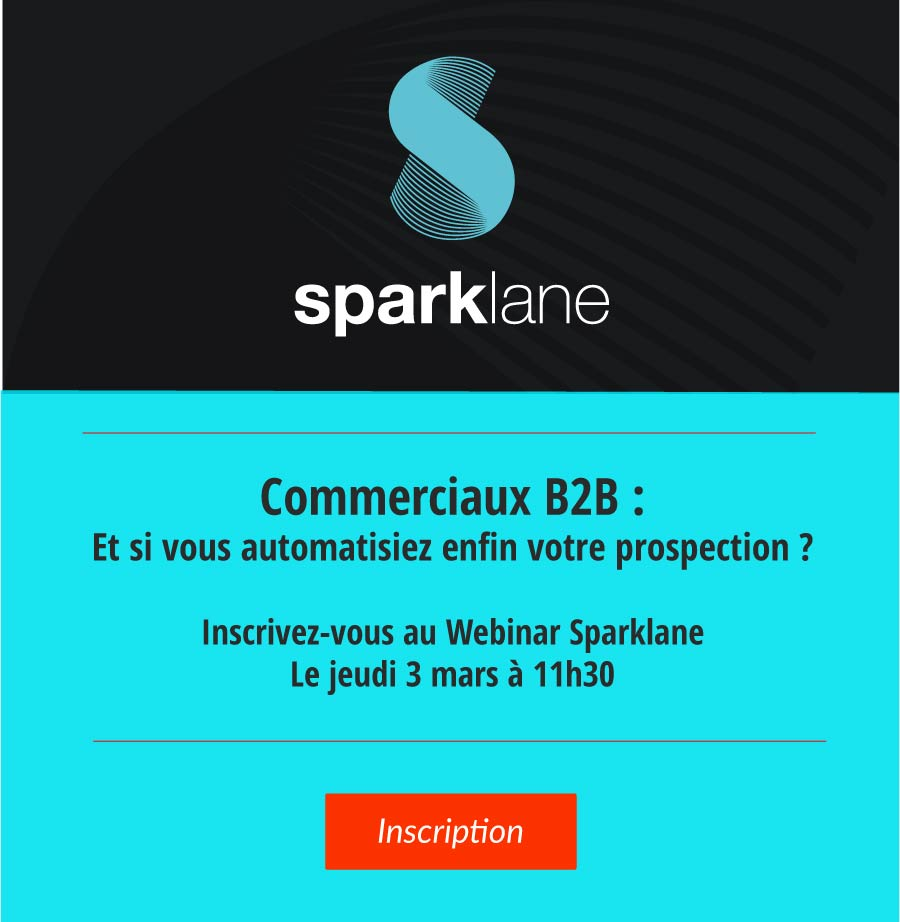 Sparklane For Sales | automatisez votre prospection