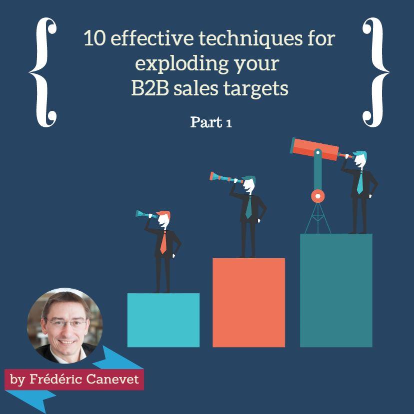 B2B sales targets