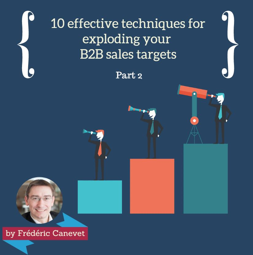 10 efficient techniques for exploding your B2B sales targets