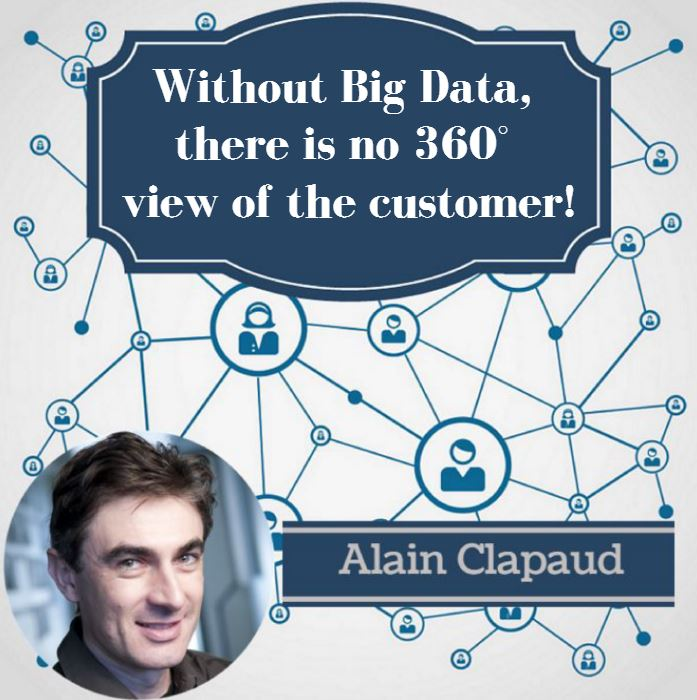 Without Big Data, there is no 360° view of the customer