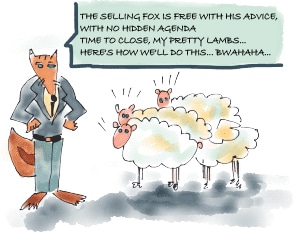 The Selling Fox