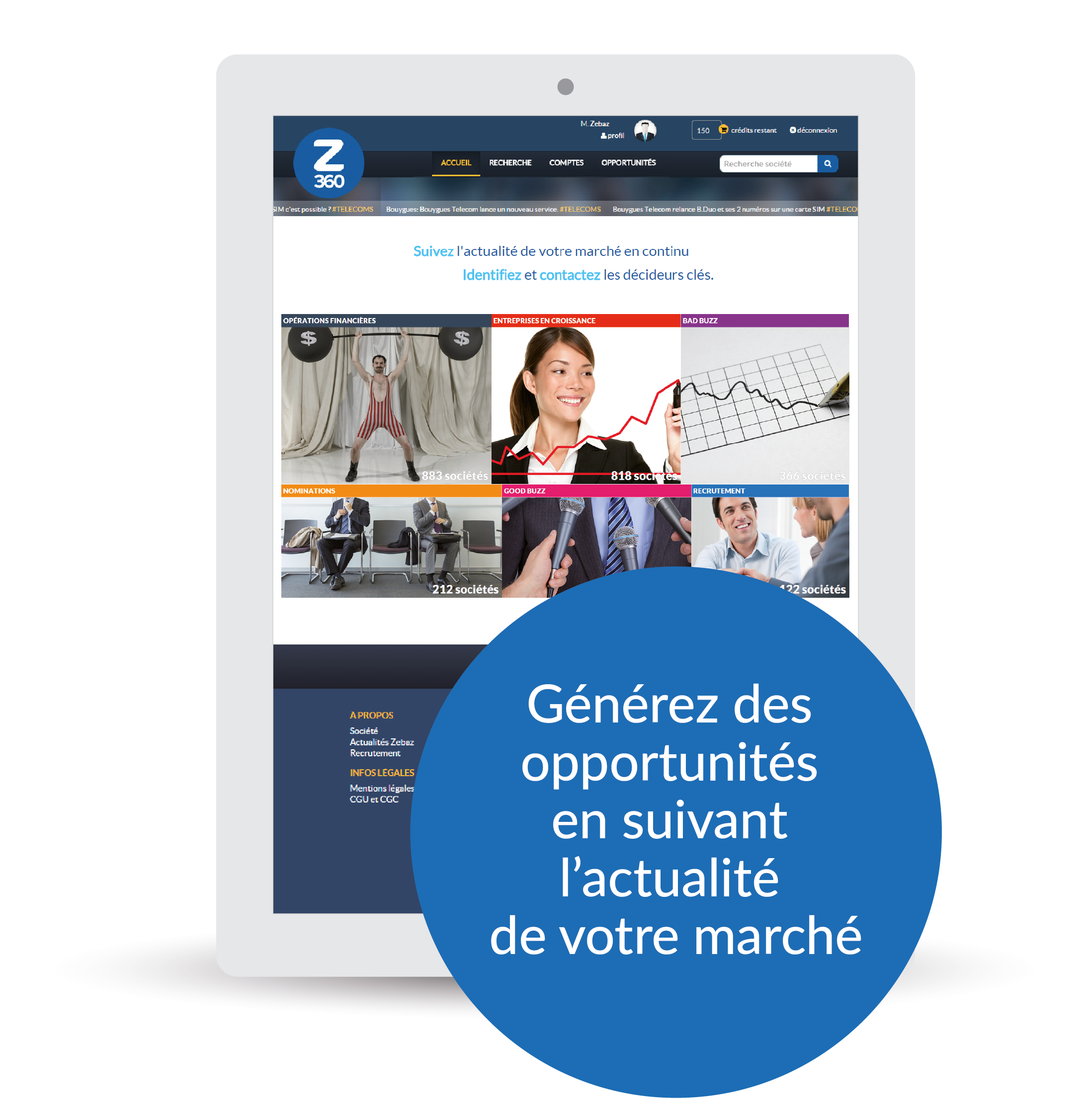 Zebaz 360 solution sales intelligence